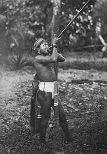 Sejarah Sumpit Suku Dayak