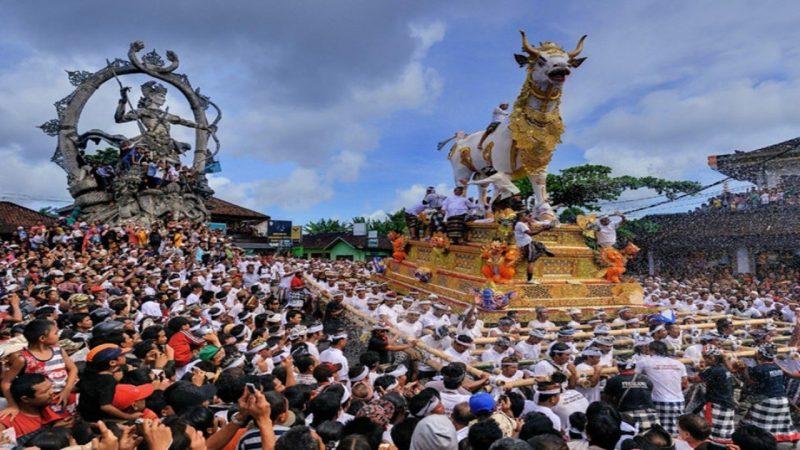 Makna upacara adat Ngaben Bali