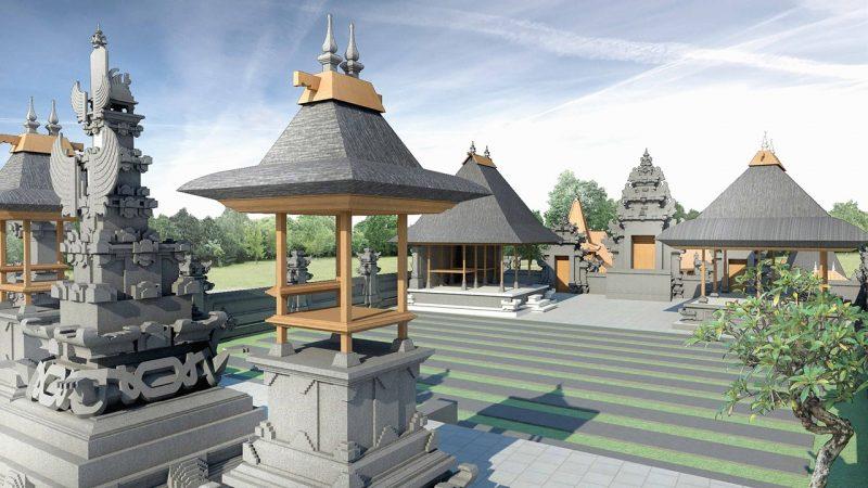 Rumah adat suku Bali