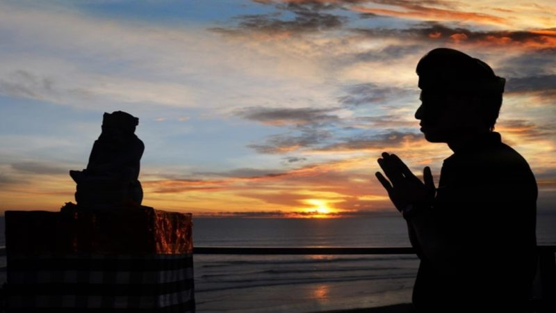 Upacara adat Bali Hari Raya Nyepi