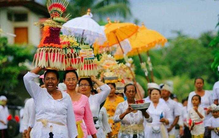 Upacara Tumpek Uduh di Bali
