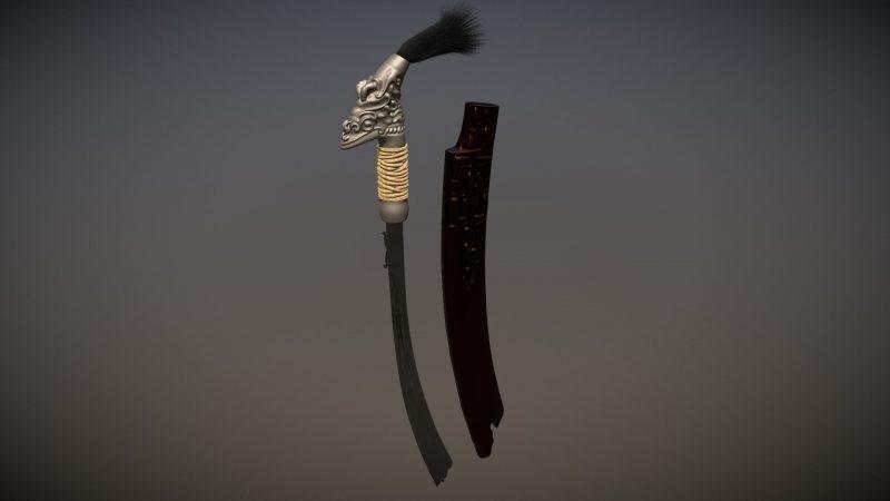 Senjata tradisional Kalimantan Tmur