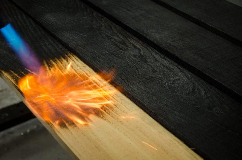 Teknik pembakaran kayu
